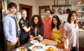 """""""The Fosters"""" cast."""