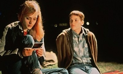 "Chloe Sevigny and Hilary Swank in ""Boys Don't Cry."""