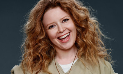 "Natasha Lyonne from ""Orange Is the New Black."""